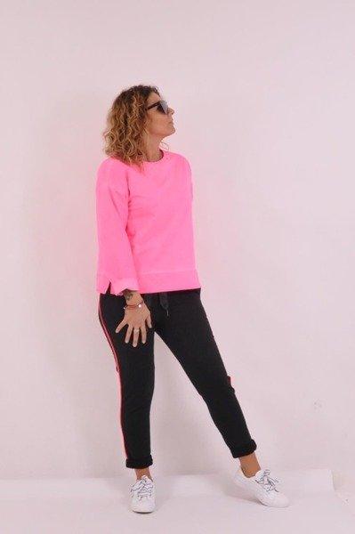 Bluza róż neon