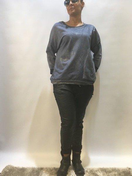 Bluzka  kieszeń warkocz
