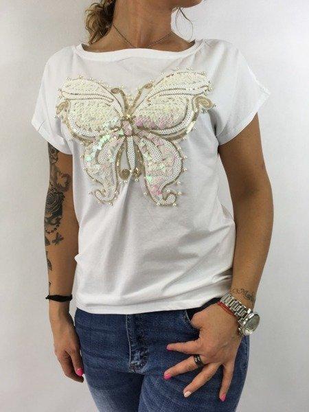 Bluzka motyl