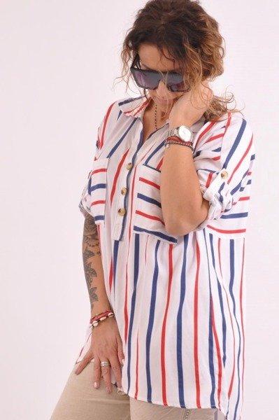 Bluzka w kolorowe paski