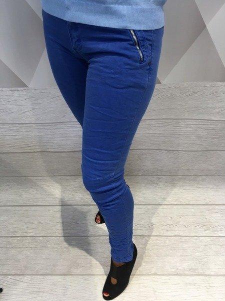 Spodnie rurki chabrowe XL.