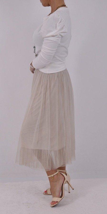 spódnica z tiulu, wersja elegancka:) na To co w mojej małej