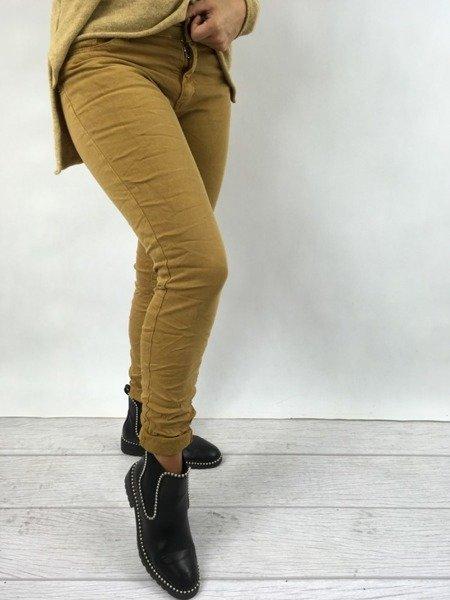 Spodnie miodowe S
