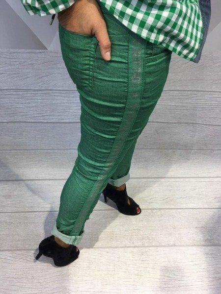 Spodnie z orginalnym lampasem L.