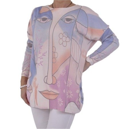 Sweter picasso