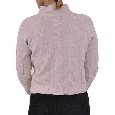 Sweter warkocz krótki