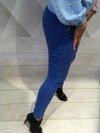 Spodnie chabrowe rurki L.