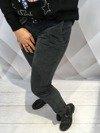 Spodnie szare wiązane na wstążkę M