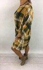 Sukienka w żółtą kratkę